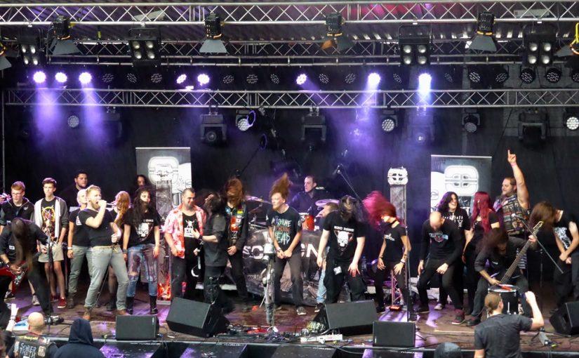 """""""Rock'N'Roll Slam – Festival"""" 2017 – Rheinromantik trifft auf harte Metallklänge und bunte Paradiesvögel"""