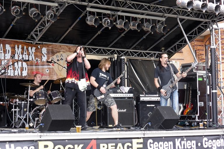 Dead Man's Hand @ Rock4Peace Festival Flensburg 09.09.17