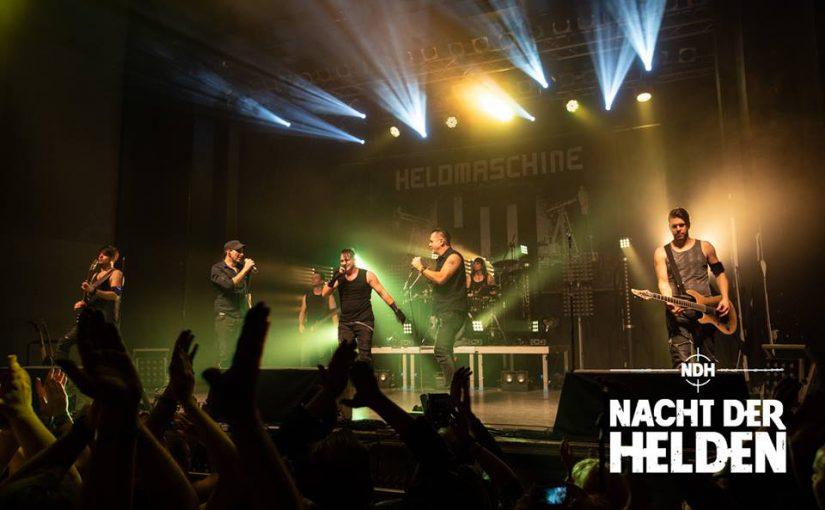 """Die """"Nacht Der Helden"""" verabschiedet das musikalische Jahr 2018 gebührend"""