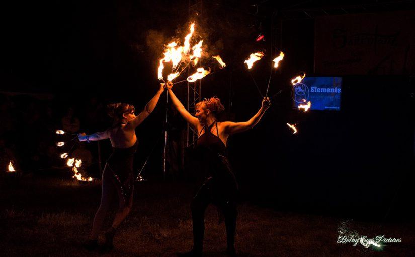 """Elements Of Fire"" @ Mittelaltermarkt Rahden 22.06.2019"