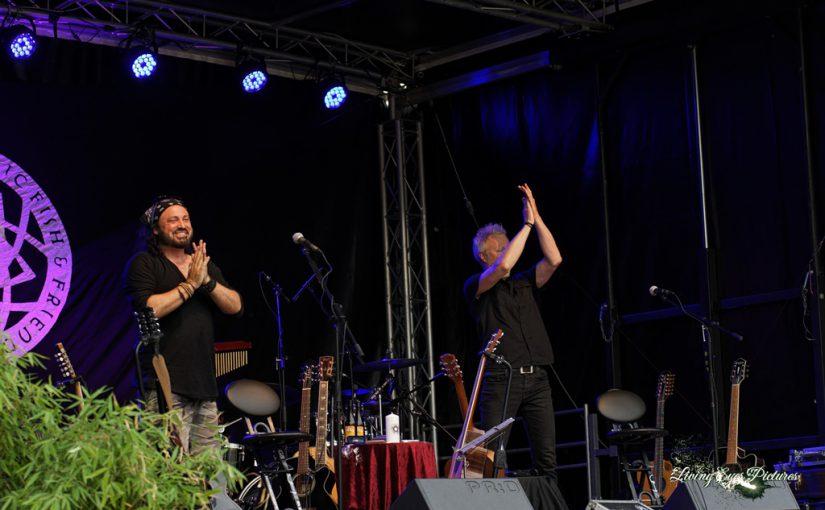 """""""Der Schulz"""" Live auf dem 2. Magdeburger Kulturpicknick  an der Festung Mark"""