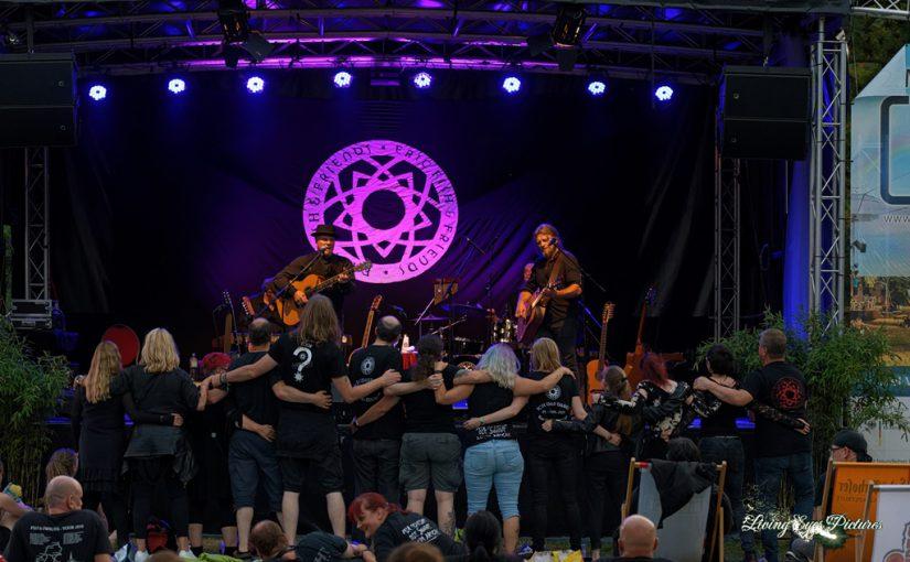 Eric Fish & Friends Live auf dem 2.Magdeburger Kulturpicknick an der Festung Mark
